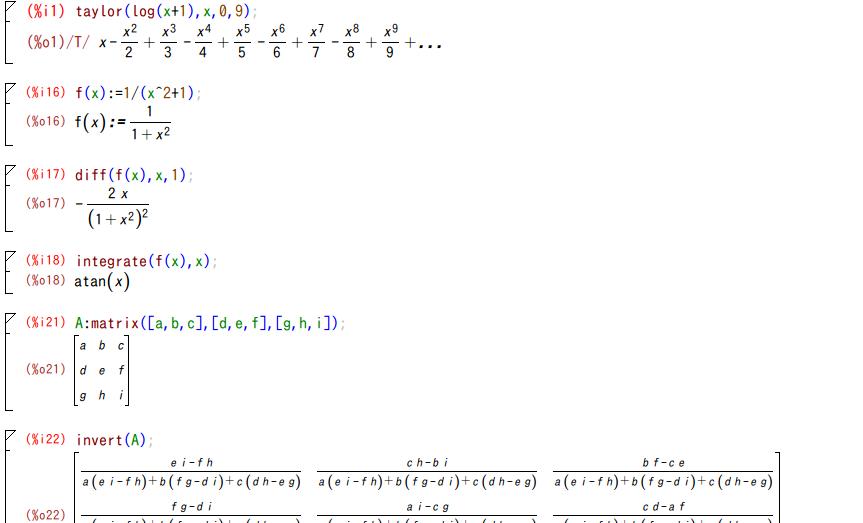 オープンソースの数式処理システ...