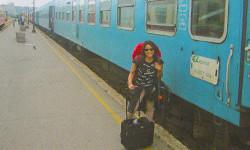 旅行時の写真